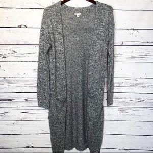 Merona duster sweater